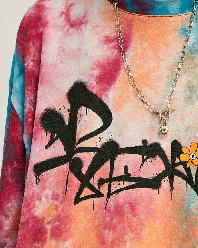 《2色》デイジースマイルタイダイTシャツの画像3